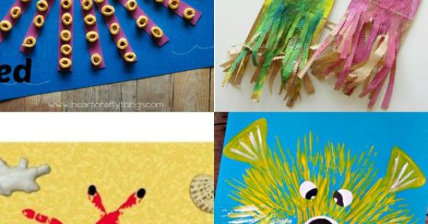 15 seashore inspired kid crafts crafts vacation bible for Vacation bible school crafts for adults