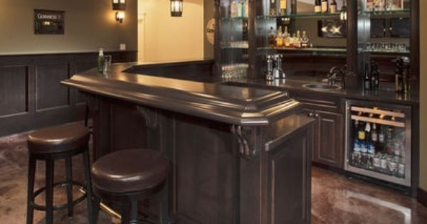 L Shaped Basement Bars Shaped Bar Design Pictures