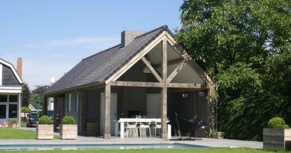 Poolhouse 1 schuurwoning pinterest veranda renovatie en hout - Renovatie hout ...