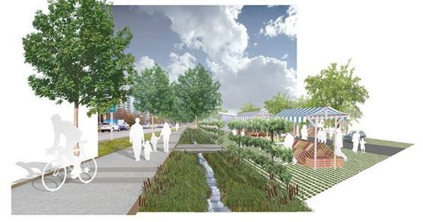 Pwl partnership landscape architects creates a dynamic and for Bc landscape architects