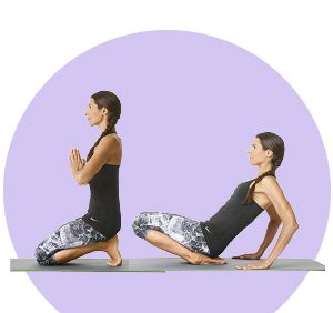 Toes Pose Helps Prevent Plantar Fasciitis By Stretching The Shins And Arches Of The Feet To Do Kneel Essential Yoga Poses Yoga For Plantar Fasciitis Yoga Poses
