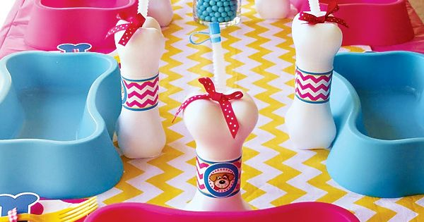 Dog Party: This girly dog party has lots of great ideas for