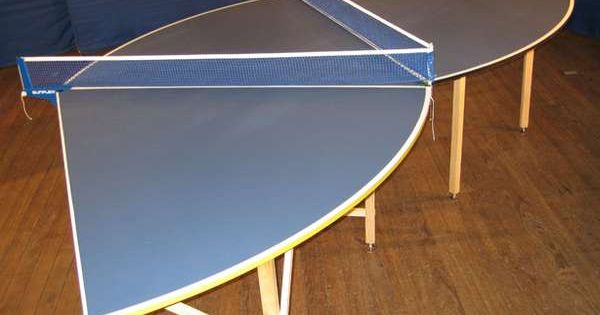 Chalkboard Table Tennis Ping Pong Table Folding Tables