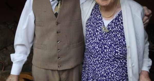 true love starts with friendship.... Lionel, 99, and his wife Ellen Buxton,