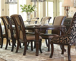 Valraven Dining Room Chair Ashley Furniture Homestore Dining Room Furniture Sets Dining Room Table Wood Dining Room Table