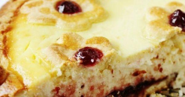 Ricotta pie, Ricotta and Cranberries on Pinterest