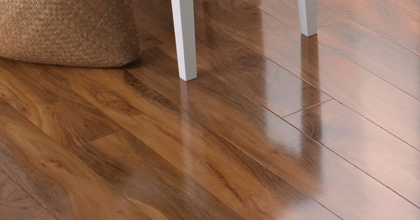 Dolce High Gloss Walnut Effect Laminate Flooring 1 19 M 178