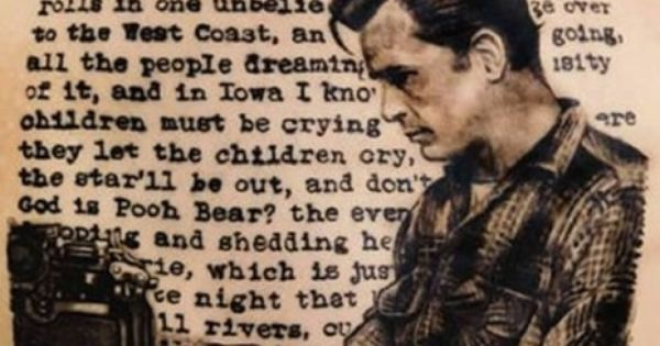 20 Awesome Literary Tattoos - On the Road, by Jack Kerouac