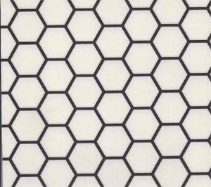 Sheet Vinyl That Looks Like Hexagonal Tile From Linoleum City