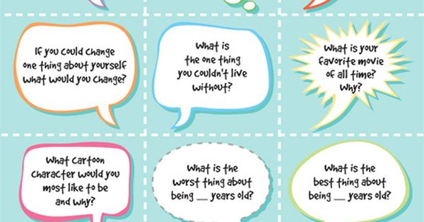 Morning Meeting: conversation starters for social skill groups
