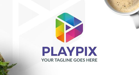 Playpix Logo – suitable for media and entertainment business