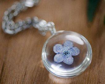 Dandelion Wish Necklace Dandelion Flower Jewelry Dandelion Seed Jewelry Dandelion Necklace Dandelion Jewellery Free Shipping Silver Real Flower Jewelry Flower Jewellery Custom Jewelry Gift
