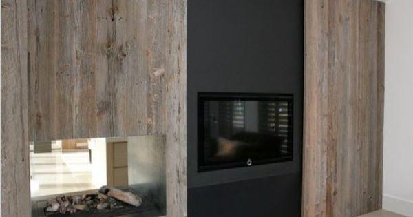 tv wand met kamerhoge schuifwand heerlijk als je je tv. Black Bedroom Furniture Sets. Home Design Ideas