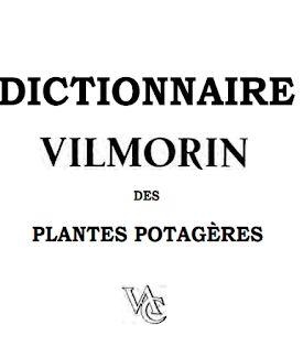 Dictionnaire Vilmorin Des Plantes Potageres Free Books Books