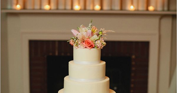 I love all the candles surrounding the cake. Photo by Kristyn Hogan