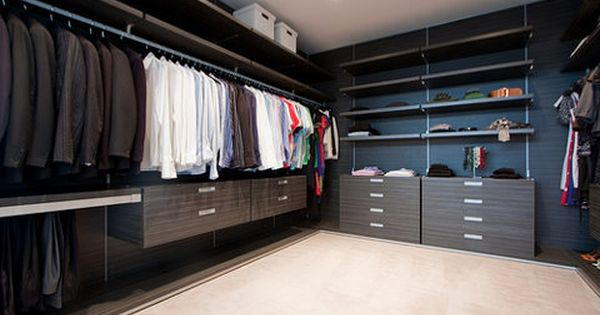 Fancy never never never give up on closet space for Fancy walk in closet