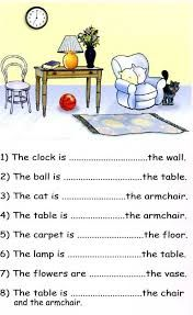 In On Under English Prepositions Grammar Lessons Speech And Language