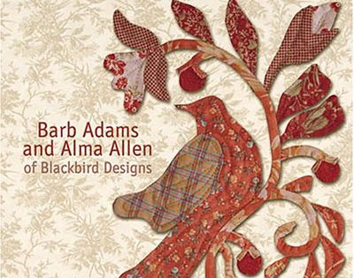 Birds of a feather by barb adams and alma allen quilt for Tending the garden blackbird designs