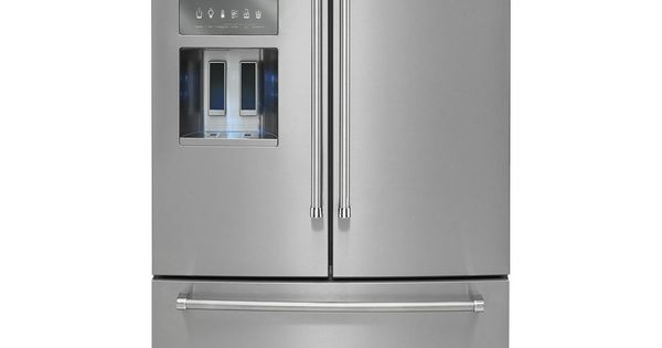 Kitchenaid 26 8 36 inch width standard depth for 6 ft wide french doors