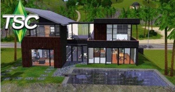 modern house floor plans sims 3 - house and home design