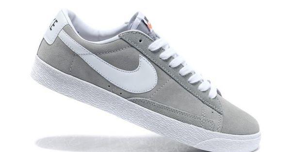 nike blazer low grey - Google Search | Shoes Men | Pinterest