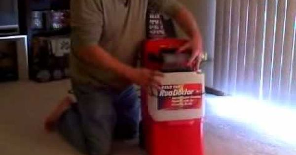 How To Clean A Carpet With A Hot Water Extraction Machine How To Use A Rug Doctor Natural Carpet Cleaning Carpet Cleaning Hacks Professional Carpet Cleaning