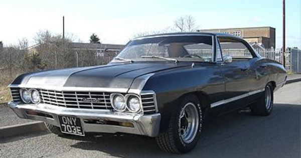 Chevrolet Impala Hire Supernatural Impala Car Hire North West