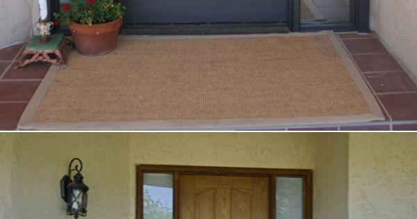 Before After Of Rental Front Door Foam Type Crown Molding Lowe 39 S Install