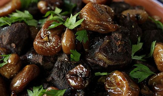 tagine moroccan lamb tagine with sweet honey figs global moroccan lamb ...