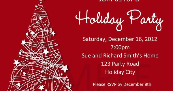 party invitations templates
