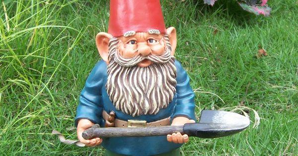 Garden Gnomes On Sale: Image Detail For -Resin Garden Gnome
