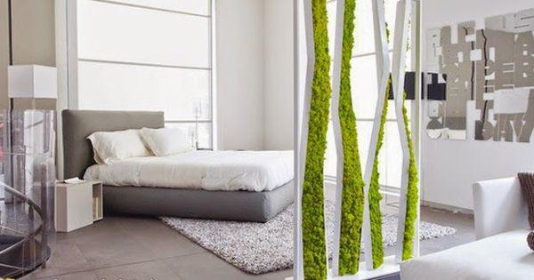 Deko In Natur Optik Rinde Moos Vertikal Garten Design   Möbelideen
