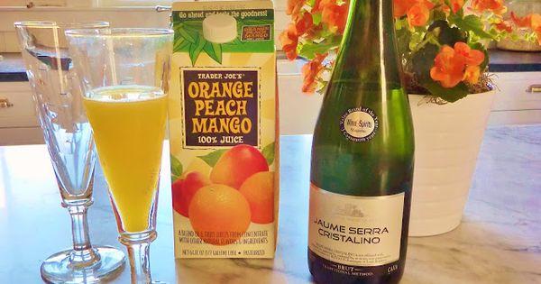 Mimosas, Mango and Peaches on Pinterest