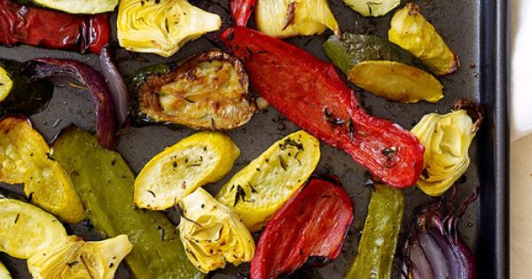 Simple Side for Busy Moms: Quick Prep, Slow Roasted Veggies | Veggies ...