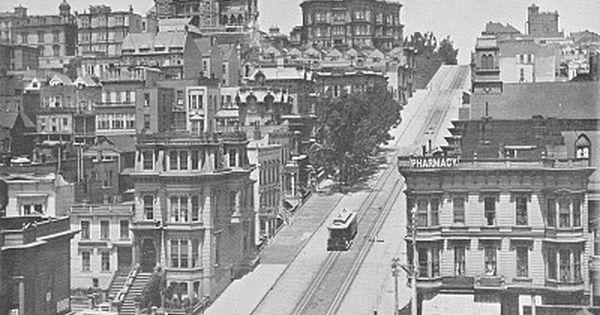 1896 Photo Of San Francisco 39 S Cable Car Rudyard Kipling