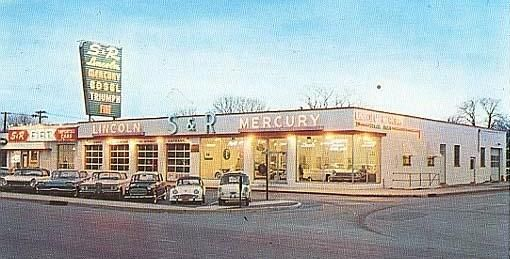 S Amp R Lincoln Mercury Rockville Centre Ny Vintage Shots