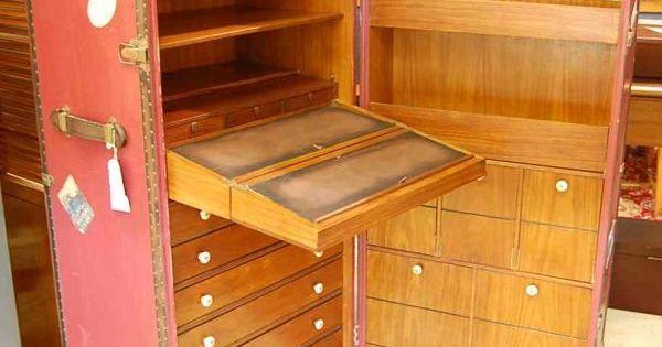 570 Starbay Travel Trunk Desk Lot 570 Trunks Pinterest Desks Campaign Furniture And