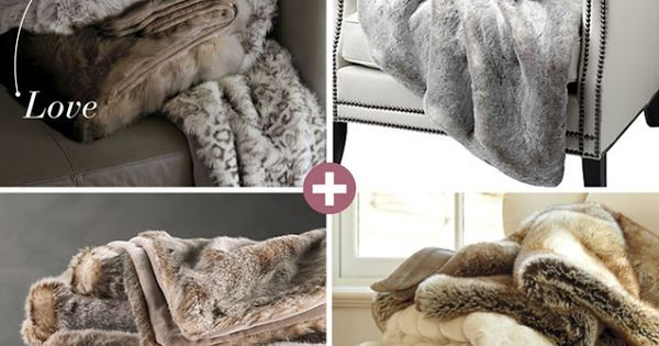 Fur Throw Faux Fur Throw And Faux Fur On Pinterest