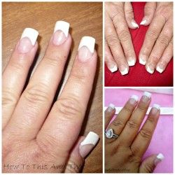 Do Your Own Acrylic Nails At Home For Under 10 A Month Acrylic Nails At Home Nails At Home Fall Acrylic Nails