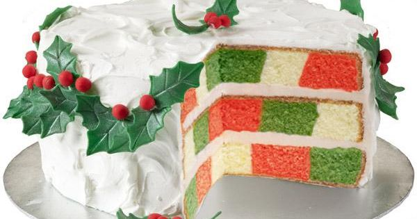 wilton checkerboard cake pan instructions