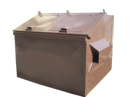 Teton Series Model T600 Bear Proof Dumpster Straatmeubilair