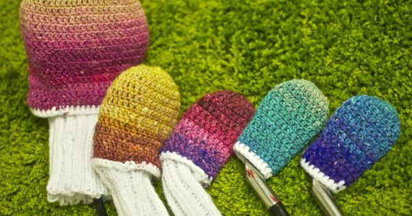 Free Knitting Pattern Golf Club Headcovers : free pattren for Crochet golf club covers CrochetxPinterest You think...