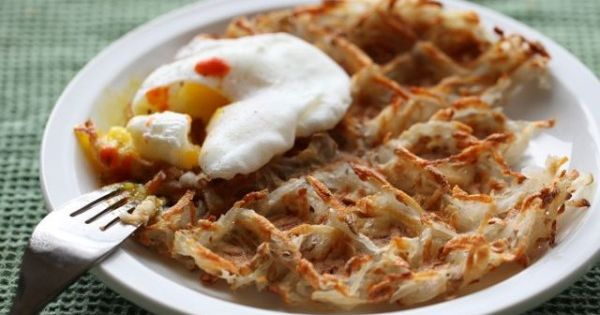 Waffle Iron Hash Browns. Look forward to trying this...maybe this morning. Looks