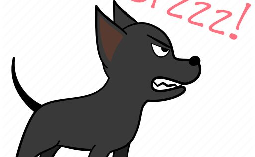 Angry Dog Hostile Joijoi Puppy Threaten Icon Download On Iconfinder Puppies Angry Dog Icon