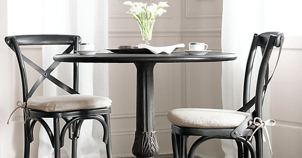 Metal madeleine side chair metal chairs restoration hardware chairs tables pinterest - Metal madeleine stool ...