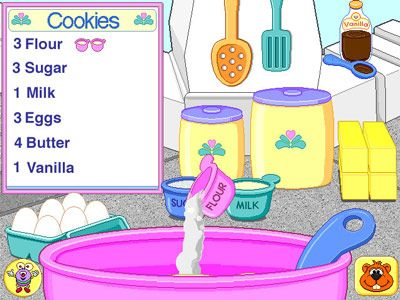 Fisher Price Learning In Toyland Cookie Baking Game
