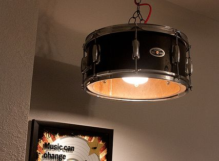 Snare Drum Light    @James Barnes B Zito    For Your Music Room (you Donu0027t  Have) | Detalles Musicales | Pinterest | More Drum Sets Ideas
