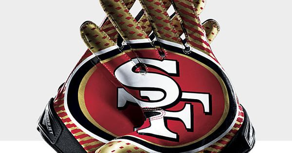 vans boutique en ligne - Nike Vapor Jet 2.0 (NFL 49ers) Men\u0026#39;s Football Gloves | cool gloves ...