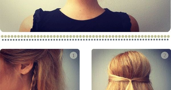 Chignon. This is very classy and seems easy compared to other braided