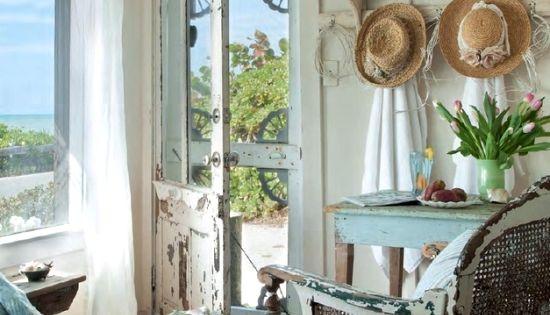 Coastal Decor Shabby Chic: Shabby Chic Beach Cottage On Casey Key, Florida